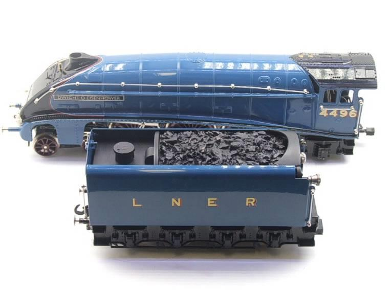 "Ace Trains O Gauge E4 A4 Pacific LNER Blue ""Dwight D Eisenhower"" R/N 4496 Elec 3 Rail Boxed image 13"