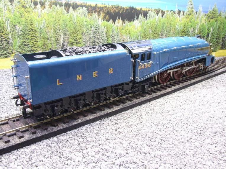 "Ace Trains O Gauge E4 A4 Pacific LNER Blue ""Dwight D Eisenhower"" R/N 4496 Elec 3 Rail Boxed image 15"