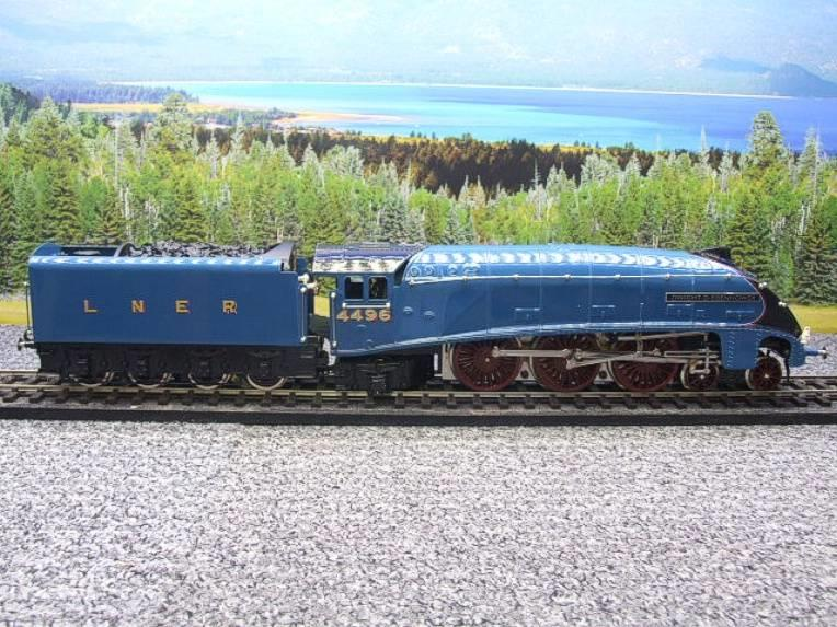 "Ace Trains O Gauge E4 A4 Pacific LNER Blue ""Dwight D Eisenhower"" R/N 4496 Elec 3 Rail Boxed image 20"