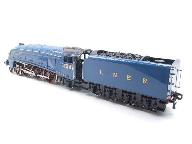 "Ace Trains O Gauge E4 A4 Pacific LNER Blue ""Dwight D Eisenhower"" R/N 4496 Elec 3 Rail Boxed image 21"