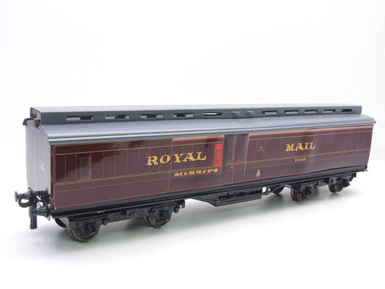 Ace Trains O Gauge LMS Ex MR Brian Wright Overlay Series TPO Mail Coach RN 30285 image 12