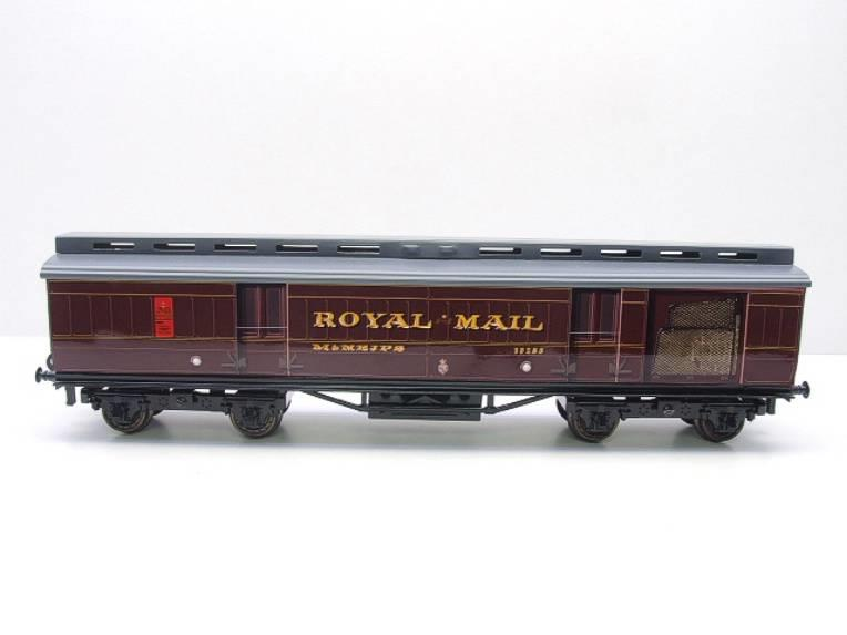 Ace Trains O Gauge LMS Ex MR Brian Wright Overlay Series TPO Mail Coach RN 30285 image 13