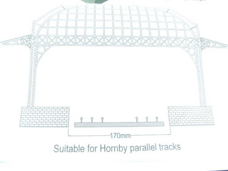 Ace Trains O Gauge Constructor Series Station Canopy Kit image 14