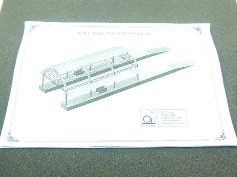 Ace Trains O Gauge Constructor Series Station Canopy Kit image 17