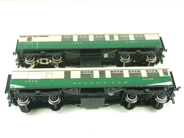 Ace Trains O Gauge LNER Gresley Tourist Coaches x2 Set 3 Rail Boxed image 11
