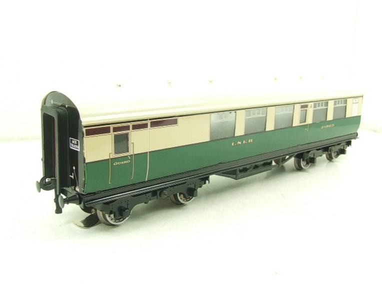 Ace Trains O Gauge LNER Gresley Tourist Coaches x2 Set 3 Rail Boxed image 16