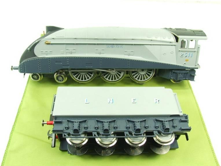 "Darstaed O Gauge A4 Pacific LNER ""Silver King"" R/N 2511 Boxed Electric 3 Rail HR image 13"
