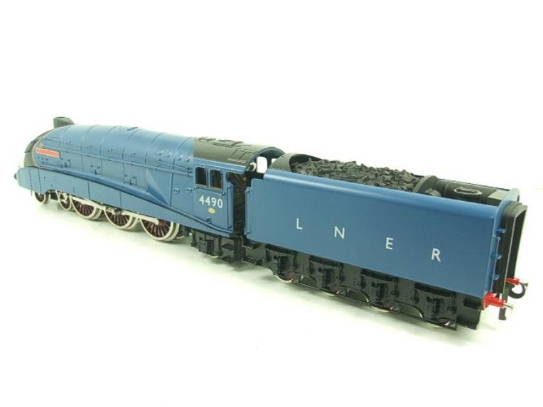"Darstaed O Gauge A4 Pacific LNER Blue Loco & Tender ""Empire of India"" R/N 4490 Elec 3 Rail Bxd image 11"