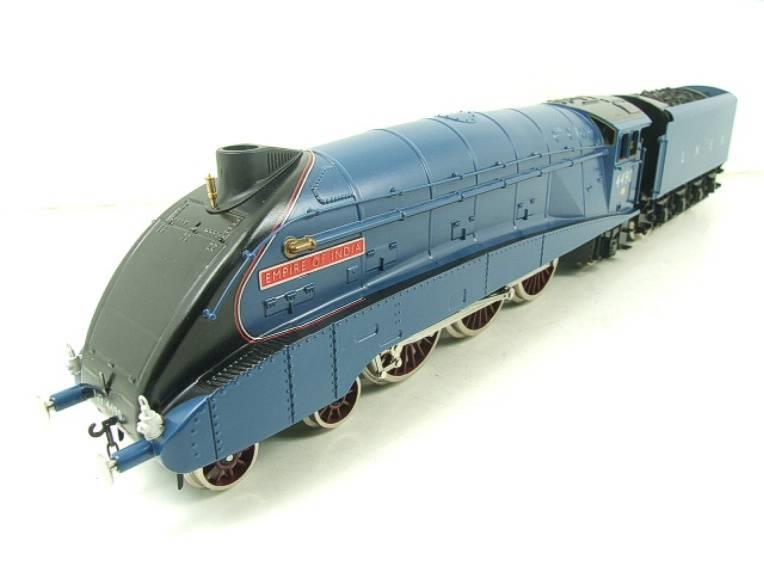 "Darstaed O Gauge A4 Pacific LNER Blue Loco & Tender ""Empire of India"" R/N 4490 Elec 3 Rail Bxd image 19"
