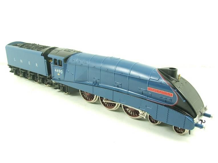"Darstaed O Gauge A4 Pacific LNER Blue Loco & Tender ""Empire of India"" R/N 4490 Elec 3 Rail Bxd image 21"