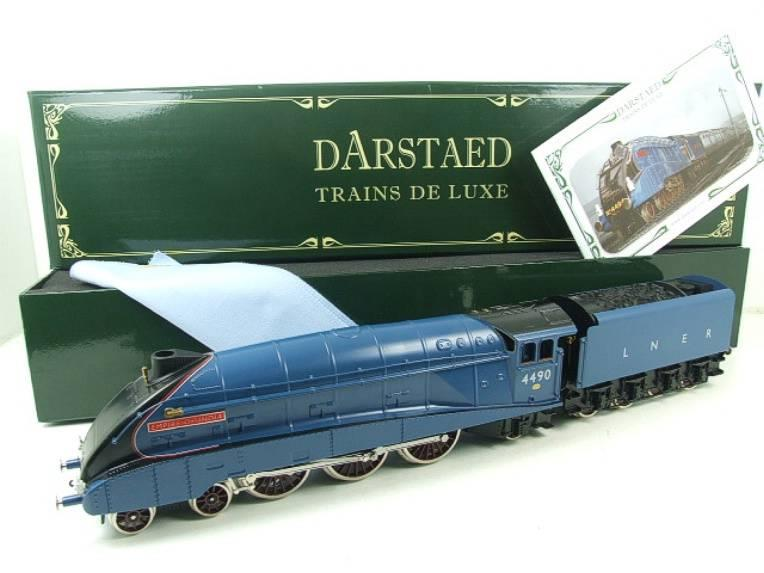 "Darstaed O Gauge A4 Pacific LNER Blue Loco & Tender ""Empire of India"" R/N 4490 Elec 3 Rail Bxd image 22"