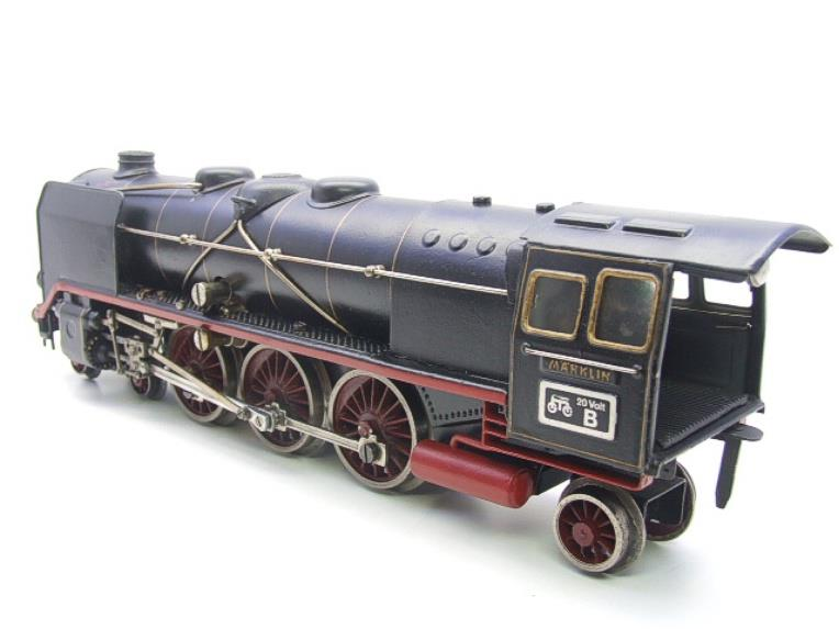 Marklin O Gauge HR66/12920 4-6-2 Loco & Eight Wheeled Tender Electric 20v image 12