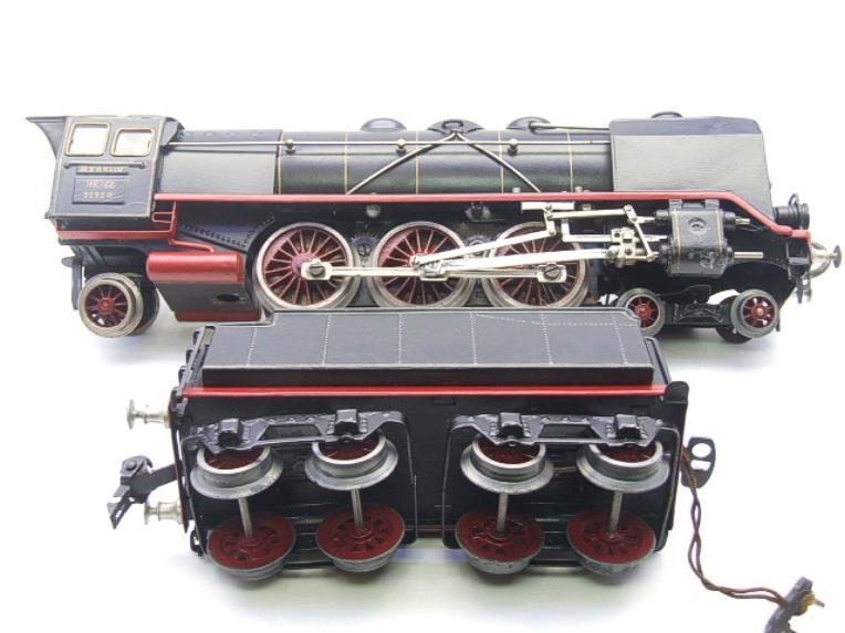 Marklin O Gauge HR66/12920 4-6-2 Loco & Eight Wheeled Tender Electric 20v image 14