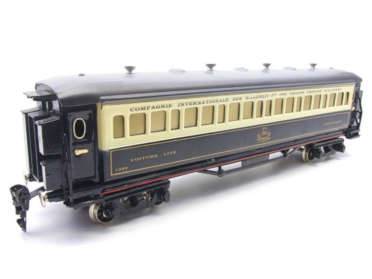 Paya Spain O Gauge Wagon Lits Sleeping Coach R/N 1388 Elec 3 Rail Boxed Interior Lit image 13