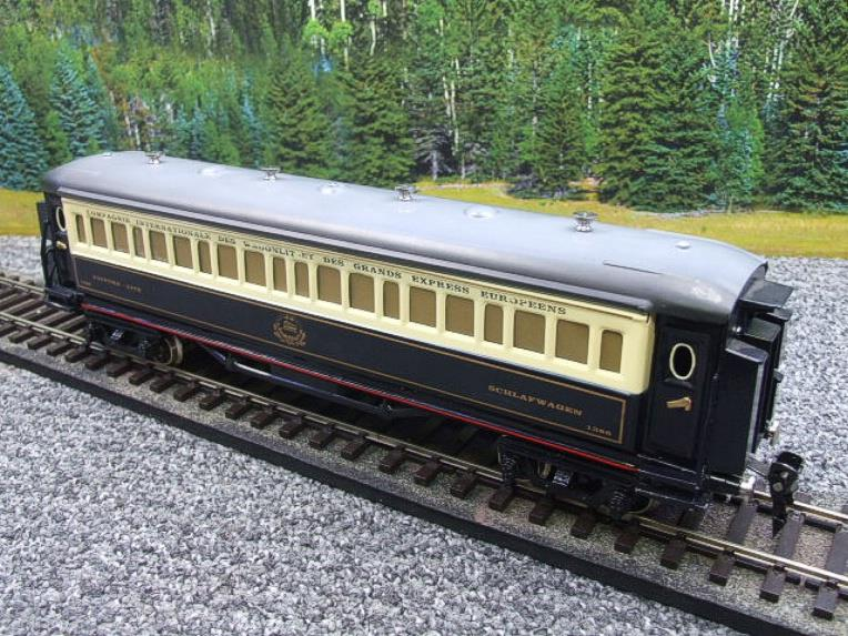 Paya Spain O Gauge Wagon Lits Sleeping Coach R/N 1388 Elec 3 Rail Boxed Interior Lit image 14