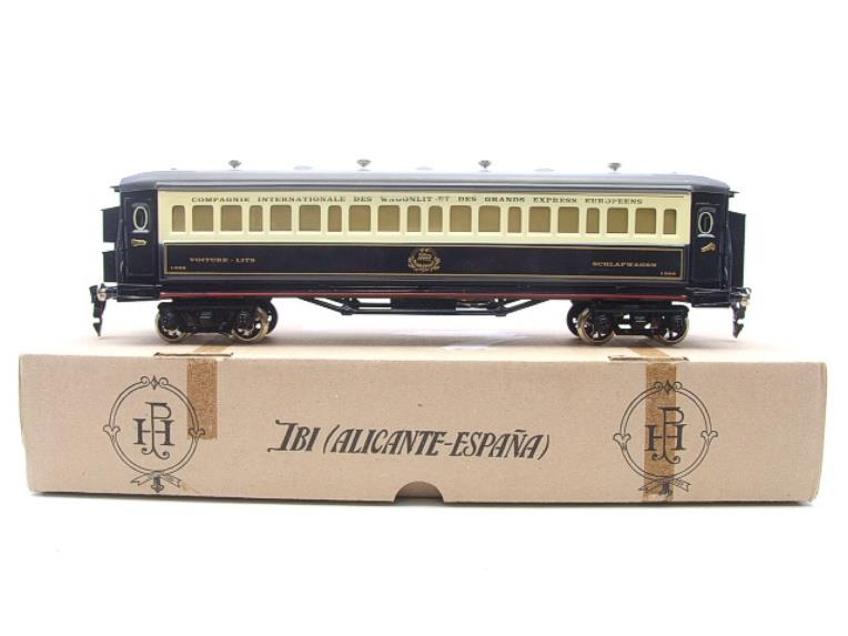 Paya Spain O Gauge Wagon Lits Sleeping Coach R/N 1388 Elec 3 Rail Boxed Interior Lit image 15