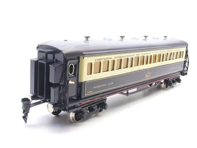 Paya Spain O Gauge Wagon Lits Sleeping Coach R/N 1388 Boxed Interior Lit image 13