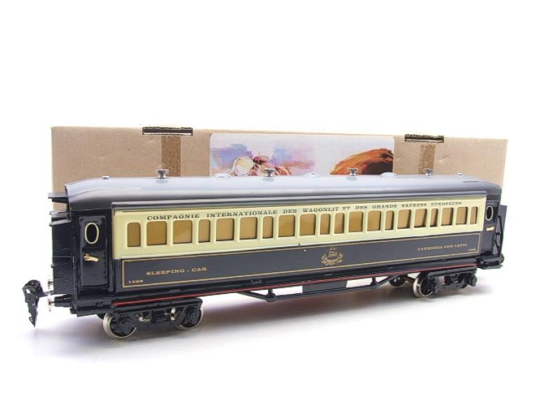 Paya Spain O Gauge Wagon Lits Sleeping Coach R/N 1388 Boxed Interior Lit image 15