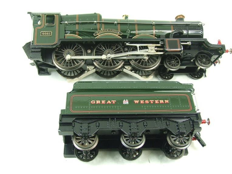 "Ace Trains O Gauge E7 GWR Castle Class ""Warwick Castle"" R/N 4081 Electric Boxed image 12"