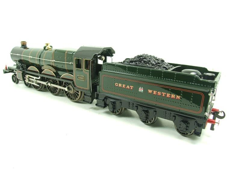 "Ace Trains O Gauge E7 GWR Castle Class ""Warwick Castle"" R/N 4081 Electric Boxed image 16"