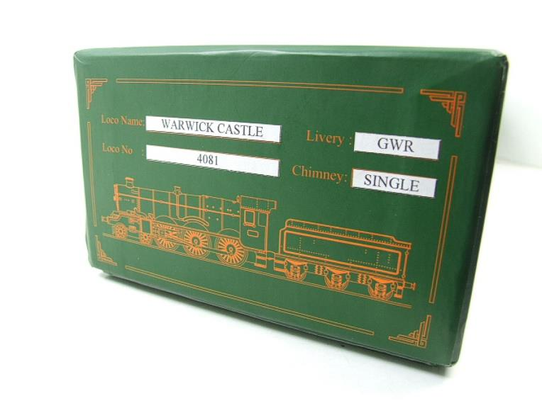 "Ace Trains O Gauge E7 GWR Castle Class ""Warwick Castle"" R/N 4081 Electric Boxed image 20"