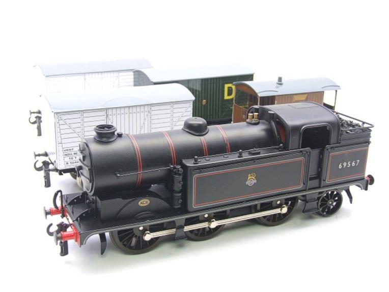 Ace Trains O Gauge E11/GS BR Class N2 Tank Loco R/N 69587 & Goods Set Boxed image 11