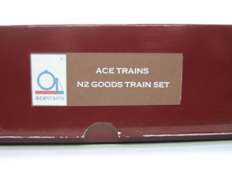 Ace Trains O Gauge E11/GS BR Class N2 Tank Loco R/N 69587 & Goods Set Boxed image 20