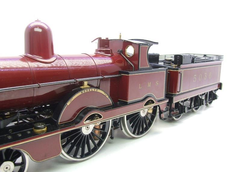 "Gauge 1, Aster, Seriel No.150/210, LMS ""Jumbo"" Novelty 2-4-0 Loco & Tender, R/N 5036 Live Steam. image 11"