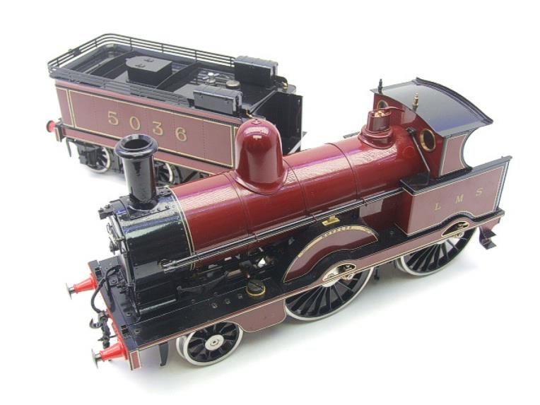 "Gauge 1, Aster, Seriel No.150/210, LMS ""Jumbo"" Novelty 2-4-0 Loco & Tender, R/N 5036 Live Steam. image 12"