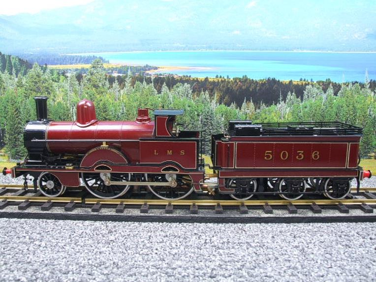 "Gauge 1, Aster, Seriel No.150/210, LMS ""Jumbo"" Novelty 2-4-0 Loco & Tender, R/N 5036 Live Steam. image 17"