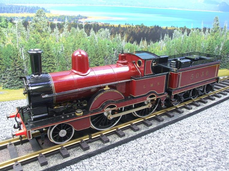 "Gauge 1, Aster, Seriel No.150/210, LMS ""Jumbo"" Novelty 2-4-0 Loco & Tender, R/N 5036 Live Steam. image 22"