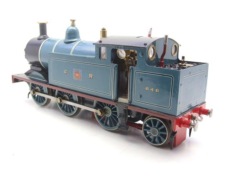 Gauge 1 Freelance CR Caledonian Railway 0-6-2 Tank Loco R/N 640 Spirit Fired Live Steam image 11