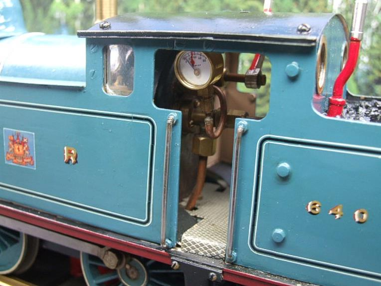 Gauge 1 Freelance CR Caledonian Railway 0-6-2 Tank Loco R/N 640 Spirit Fired Live Steam image 13