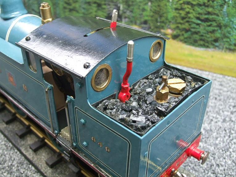 Gauge 1 Freelance CR Caledonian Railway 0-6-2 Tank Loco R/N 640 Spirit Fired Live Steam image 15