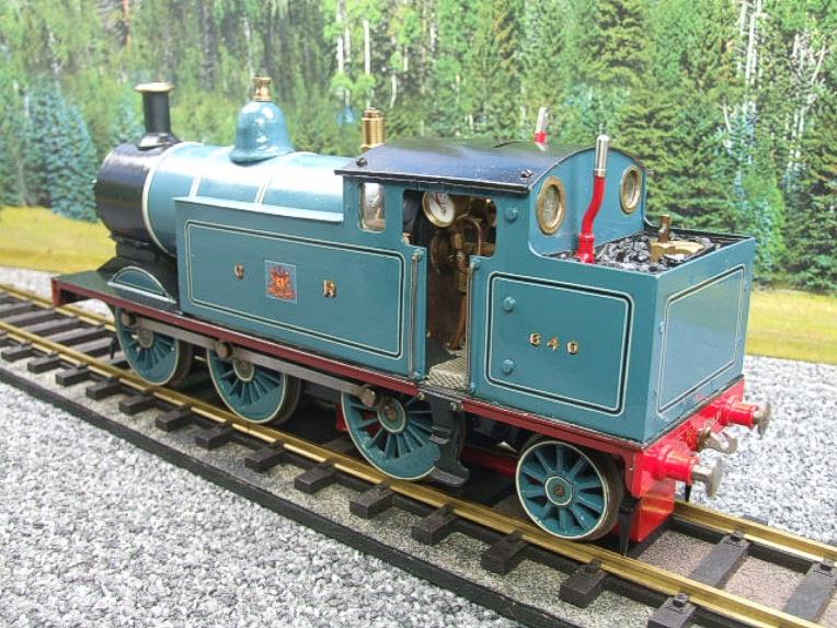 Gauge 1 Freelance CR Caledonian Railway 0-6-2 Tank Loco R/N 640 Spirit Fired Live Steam image 17