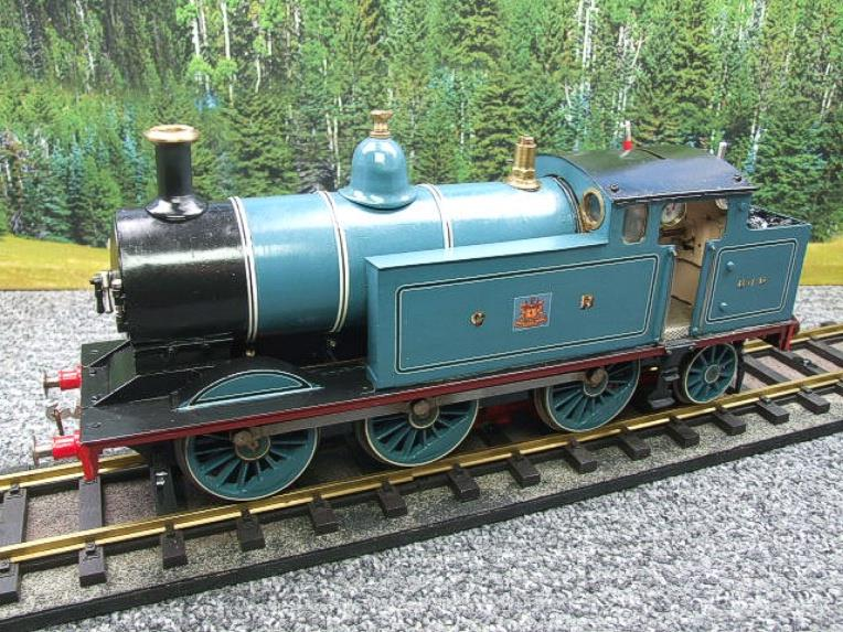 Gauge 1 Freelance CR Caledonian Railway 0-6-2 Tank Loco R/N 640 Spirit Fired Live Steam image 20