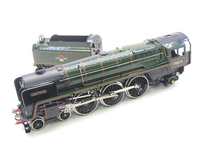 "Ace Trains O Gauge E27K BR Britannia Class ""Lighting"" R/N 70019 Post 56 Bxd image 11"