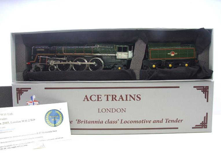"Ace Trains O Gauge E27K BR Britannia Class ""Lighting"" R/N 70019 Post 56 Bxd image 17"