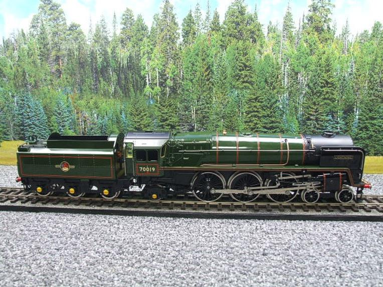 "Ace Trains O Gauge E27K BR Britannia Class ""Lighting"" R/N 70019 Post 56 Bxd image 18"