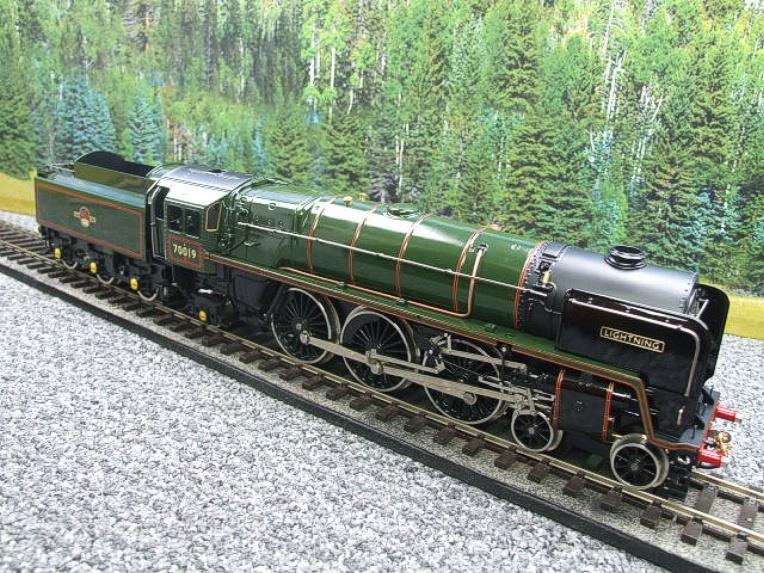"Ace Trains O Gauge E27K BR Britannia Class ""Lighting"" R/N 70019 Post 56 Bxd image 19"