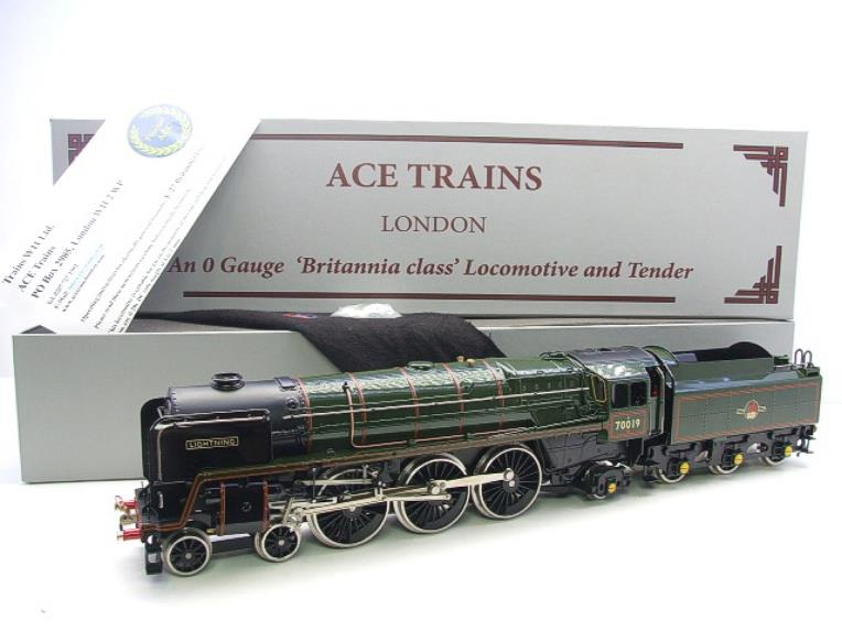 "Ace Trains O Gauge E27K BR Britannia Class ""Lighting"" R/N 70019 Post 56 Bxd image 20"