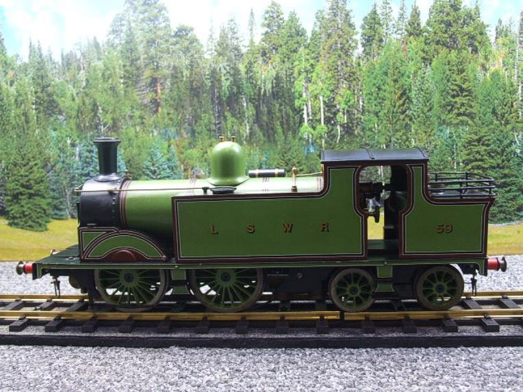 "Gauge 1 LSWR Green ""M7"" Class 0-4-4 Tank Loco R/N 59 Spirit Fired Live Steam image 16"