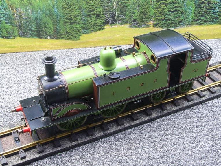 "Gauge 1 LSWR Green ""M7"" Class 0-4-4 Tank Loco R/N 59 Spirit Fired Live Steam image 18"