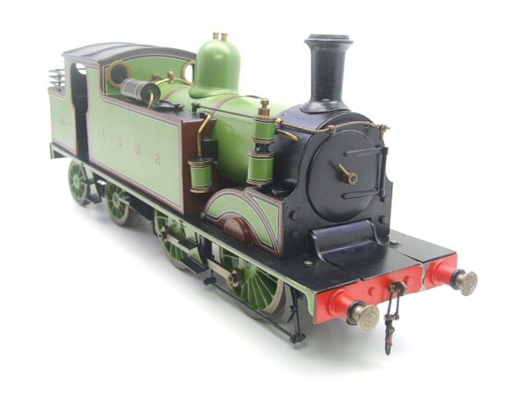 "Gauge 1 LSWR Green ""M7"" Class 0-4-4 Tank Loco R/N 59 Spirit Fired Live Steam image 19"