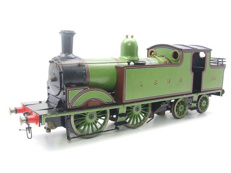 "Gauge 1 LSWR Green ""M7"" Class 0-4-4 Tank Loco R/N 59 Spirit Fired Live Steam image 20"