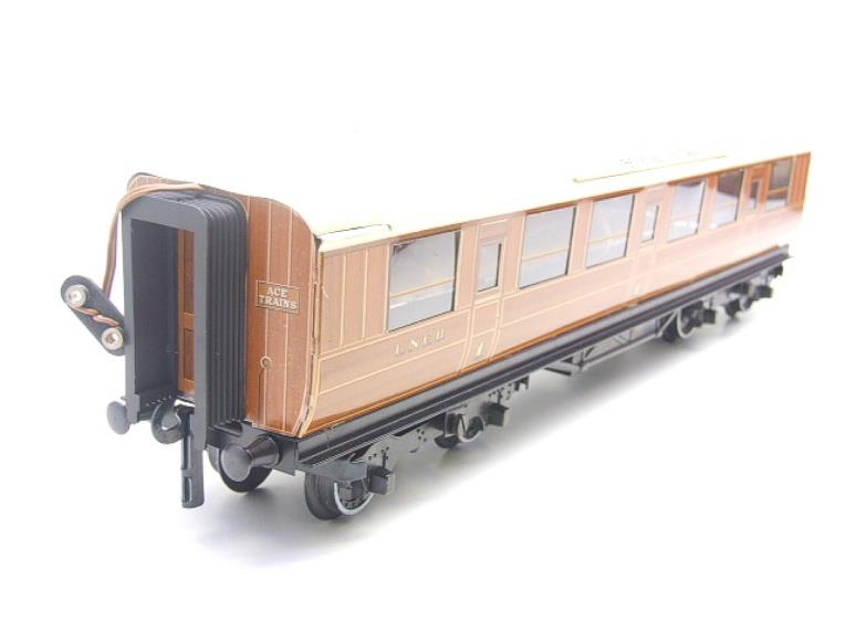 "Ace Trains O Gauge C4 LNER ""The Flying Scotsman"" All 1st Corridor Coach R/N 6461 Int Lit image 11"