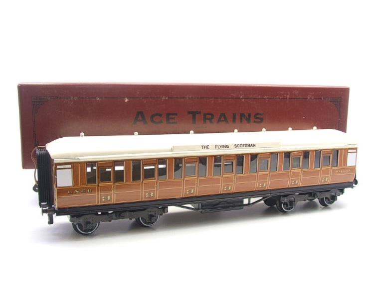 "Ace Trains O Gauge C4 LNER ""The Flying Scotsman"" All 3rd Corridor Coach R/N 64639 image 15"