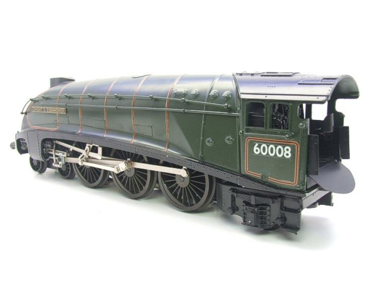 "Seven Mills O Gauge BR Green A4 Pacific ""Dwight D Eisenhower"" Loco & Tender R/N 60008 Elec 2/3 Rail image 12"