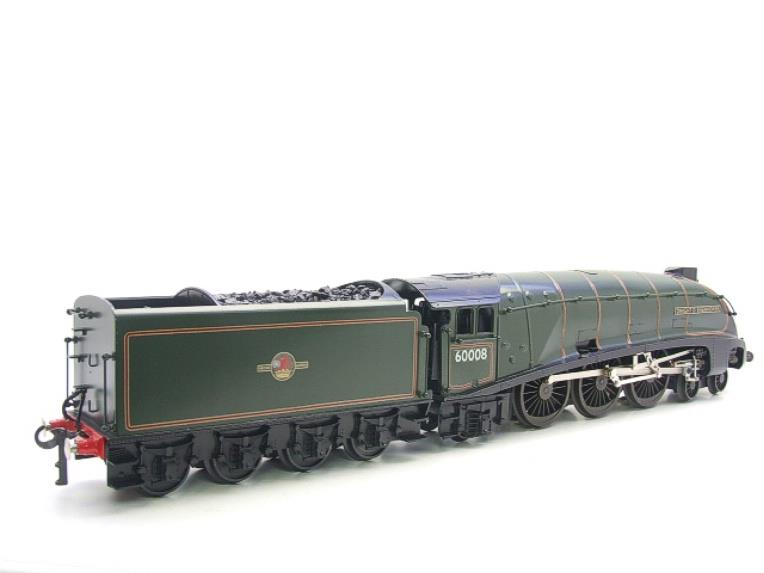 "Seven Mills O Gauge BR Green A4 Pacific ""Dwight D Eisenhower"" Loco & Tender R/N 60008 Elec 2/3 Rail image 19"