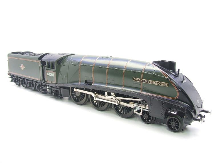 "Seven Mills O Gauge BR Green A4 Pacific ""Dwight D Eisenhower"" Loco & Tender R/N 60008 Elec 2/3 Rail image 20"